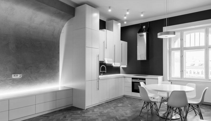 Byt na Národní – spolupráce s KAMARUMAH Architects